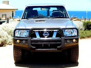 2011 Nissan Patrol GU 7 MY10 ST Grey 4 Speed Automatic Wagon Christies Beach Morphett Vale Area Preview