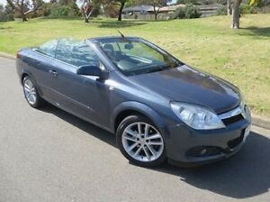 2006 Holden Astra AH MY07 Twin TOP Blue 4 Speed Automatic Convertible Christies Beach Morphett Vale Area Preview