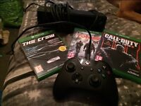 Xbox one controller & Kinect plus 3 games