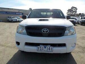 2007 Toyota Hilux White Manual Utility Pakenham Cardinia Area Preview