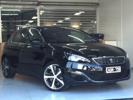2015 Peugeot 308 Black Sports Automatic Hatchback