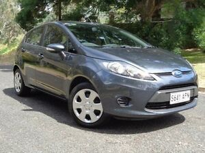 2012 Ford Fiesta WT CL PwrShift Grey 6 Speed Sports Automatic Dual Clutch Hatchback St Marys Mitcham Area Preview
