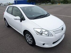 2011 Toyota Corolla ZRE152R MY11 Ascent Sport White 4 Speed Automatic Hatchback Hyde Park Townsville City Preview