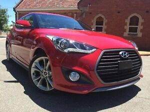 2016 Hyundai Veloster FS4 Series II SR Coupe D-CT Turbo + Red 7 Speed Sports Automatic Dual Clutch Nailsworth Prospect Area Preview