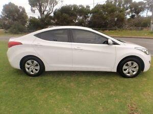 2012 Hyundai Elantra MD Active White 6 Speed Sports Automatic Sedan Mandurah Mandurah Area Preview