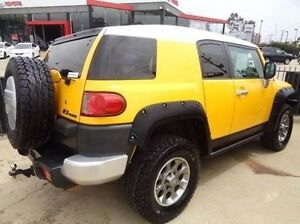 2011 Toyota FJ Cruiser GSJ15R Hornet Yellow 5 Speed Automatic Wagon Melton Melton Area Preview