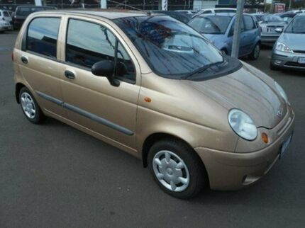 2003 Daewoo Matiz SE M150 4 Speed Automatic Hatchback West Footscray Maribyrnong Area Preview