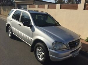 2000 Mercedes-Benz ML320 W163 MY2000 Luxury Silver 5 Speed Sports Automatic Wagon Hove Holdfast Bay Preview