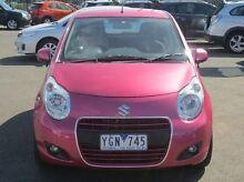 2011 Suzuki Alto GF GL Pink 4 Speed Automatic Hatchback Coolaroo Hume Area Preview
