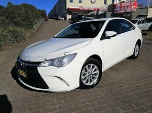 2015 Toyota Camry ASV50R Altise White 6 Speed Sports Automatic Sedan Windsor Hawkesbury Area Preview