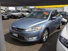 2008 Ford Mondeo MA Zetec Blue 6 Speed Sports Automatic Hatchback Maidstone Maribyrnong Area Preview