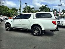 2012 Mitsubishi Triton MN MY12 GLX-R Double Cab White 5 Speed Manual Utility Mackay 4740 Mackay City Preview