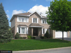 Furnished 6 BDR Home in Gatineau - $4,000/month