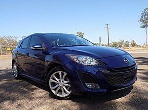 2011 Mazda 3 BL10L2 SP25 Activematic Blue 5 Speed Auto Seq Sportshift Hatchback Stuart Park Darwin City Preview