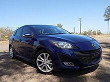 2011 Mazda 3 BL10L2 SP25 Activematic Blue 5 Speed Auto Seq Sportshift Hatchback Stuart Park Darwin City Preview
