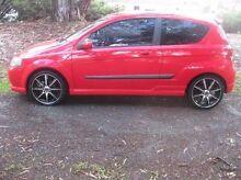2006 Holden Barina TK Red 5 Speed Manual Hatchback Woodville Park Charles Sturt Area Preview