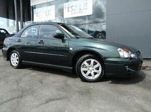 2004 Subaru Impreza S MY04 RX AWD Green 4 Speed Automatic Sedan Earlville Cairns City Preview