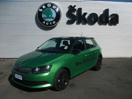 2015 Skoda Fabia NJ MY15 66TSI Green 5 Speed Manual Hatchback Invermay Launceston Area Preview