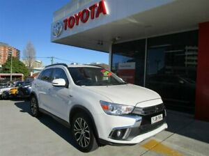 2017 Mitsubishi ASX XC MY18 LS (2WD) White Continuous Variable Wagon Hurstville Hurstville Area Preview