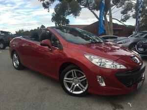 2009 Peugeot 308 T7 CC HDi Red 6 Speed Sports Automatic Convertible Melville Melville Area Preview