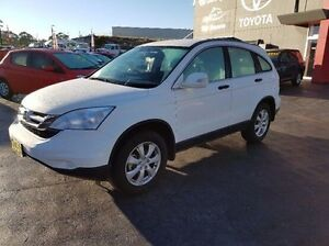2012 Honda CR-V MY11 (4x4) White 5 Speed Automatic Wagon Taylors Beach Port Stephens Area Preview