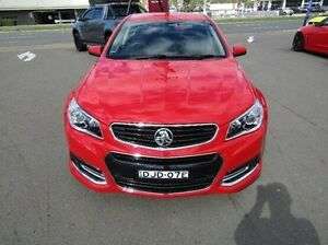 2015 Holden Commodore VF MY15 SV6 Storm Red 6 Speed Sports Automatic Sedan Cardiff Lake Macquarie Area Preview