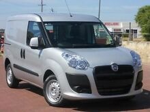 2015 Fiat Doblo 263 Low Roof SWB Comfort-matic Grey 5 Speed Sports Automatic Single Clutch Van Spearwood Cockburn Area Preview