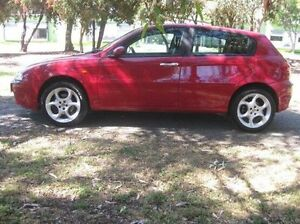 2001 Alfa Romeo 147 MY2002 Twin Spark Red 5 Speed Manual Hatchback Beverley Charles Sturt Area Preview