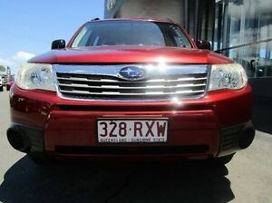 2010 Subaru Forester S3 MY10 X AWD Red 4 Speed Sports Automatic Wagon Earlville Cairns City Preview