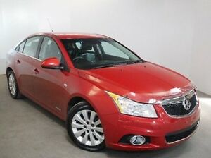 2012 Holden Cruze JH Series II MY12 CDX Red 6 Speed Manual Sedan Mount Gambier Grant Area Preview