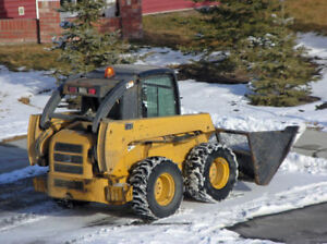 Skid Steer with Blade for Rent