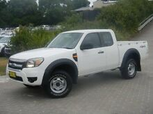 2010 Ford Ranger PK XL Crew Cab White 5 Speed Manual Utility Windsor Hawkesbury Area Preview