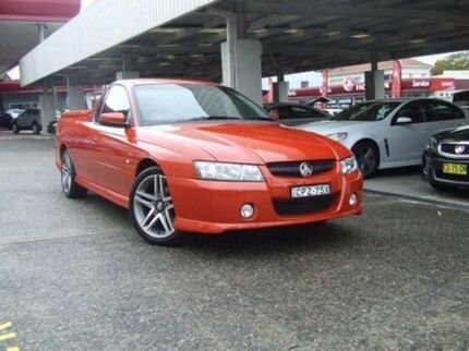 2006 Holden Ute VZ MY06 SV6 6 Speed Manual Utility Haberfield Ashfield Area Preview