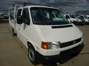 2003 Volkswagen Transporter White Manual Cab Chassis Coburg North Moreland Area Preview
