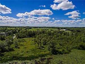 LAKE SCUGOG WATERFRONT- 10 ACRE BUILDING LOT!