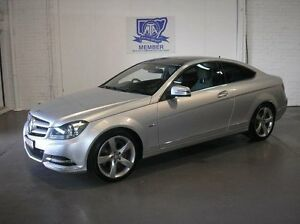 2011 Mercedes-Benz C350 C204 BlueEFFICIENCY Silver 7 Speed Sports Automatic Coupe Woodbine Campbelltown Area Preview