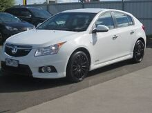 2011 Holden Cruze JH Series II MY12 SRi-V White 6 Speed Manual Hatchback Coolaroo Hume Area Preview