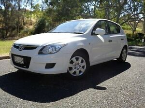 2011 Hyundai i30 FD MY11 SX White 4 Speed Automatic Hatchback St Marys Mitcham Area Preview
