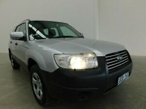2007 Subaru Forester 79V MY07 X AWD Silver 5 Speed Manual Wagon Braeside Kingston Area Preview