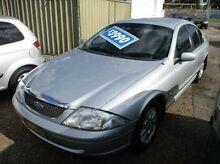 2002 Ford Fairmont AU III Silver 4 Speed Automatic Sedan Islington Newcastle Area Preview