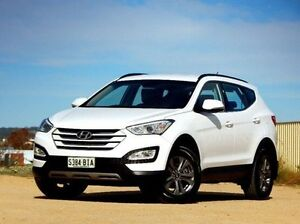 2014 Hyundai Santa Fe DM2 MY15 Active White 6 Speed Sports Automatic Wagon Christies Beach Morphett Vale Area Preview