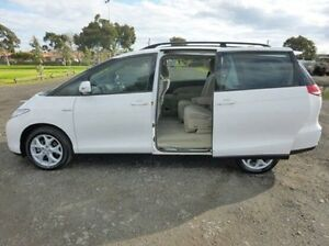 2008 Toyota Tarago White Sports Automatic Wagon Coburg North Moreland Area Preview