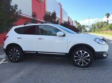 2012 Nissan Dualis J10W Series 3 MY12 Ti-L Hatch 2WD White 6 Speed Manual Hatchback Beckenham Gosnells Area Preview