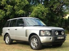 2002 Land Rover Range Rover L322 03MY HSE Silver 5 Speed Automatic Wagon Albion Brisbane North East Preview