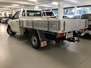 2010 Toyota Hilux TGN16R MY10 Workmate White 5 Speed Manual Cab Chassis Narre Warren Casey Area Preview