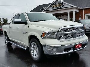 2016 Ram 1500 Laramie 4x4, Leather Heated Seats, Bluetooth, Back