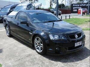 2011 Holden Ute VE II SV6 Thunder Black 6 Speed Manual Utility Wynnum Brisbane South East Preview