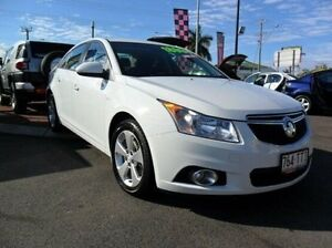 2014 Holden Cruze JH Series II MY14 Equipe White 6 Speed Sports Automatic Sedan Gympie Gympie Area Preview