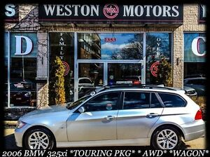 2006 BMW 3 Series 325xi*WAGON*AWD*IN HOUSE FINANCING!