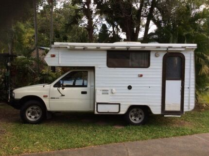 Motorhome Holden Rodeo Deluxe Turbo Diesel 4x4 Russell Island Redland Area Preview